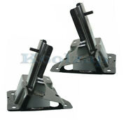 06-11 Lucerne And Dts Front Bumper Mounting Brace Impact Bar Bracket Set Pair
