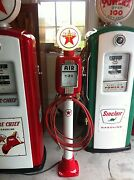 Vintage Eco Air Meter Gas Oil Texaco Restored Water With Texaco Lights