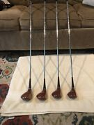 Macgregor Persimmon Limited Edition Numbered Woods 1, 3, 4, 5 Made For Disney