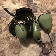 David Clark H3312 Ground Service Headset And C31-50 Extension Cord. Pickup400