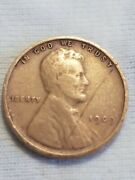 Wheat Pennies 1909 - 1910 Good Condition