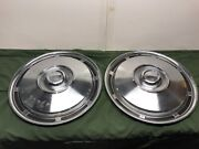 Viintage Hubcaps Wheelcover 15andrdquo Classic Car Trailer 1960 - 1970 400910