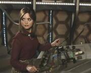 Jenna Coleman Signed 8x10 Photo Doctor Who Authentic Autograph Coa A