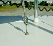 Custom Stainless Steel Deck-bolt With Eye Ring For Bow Casting Platform