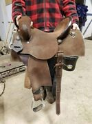 Brittany Pozzi Barrel Saddle