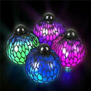 Kicko 3andrdquo Light-up Mesh Squish Jelly Ball Andndash 12 Pieces Stress Balls For...