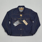 Menand039s Bob Dong 11mj Pleated Selvage Denim Jacket Vintage Tooling Jean Coat Tops