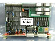 Philips Pg2026 Cpu Pcb Card Asml 4022.430.2161 Pas 5000/2500 Wafer Stepper Used
