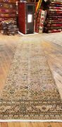 Primitive 1930-1939and039s Antique Wool Pile Natural Dye Bunyan Runner Rug 2andrsquo4andrdquox 9andrsquo5andrdquo