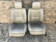 2007-2013 Mercedes W221 S63 S65 Amg Sport Front Leather Seat Seats W Screen Oem
