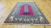 Beautiful Vintage 1950-1960 S Wool Pile Natural Dye Prayer Rug 2andrsquo2andrdquox 3andrsquo11andrdquo