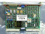 Philips Pg 3652 Processor Pcb Card Asml 4022.422.7588 Pas 5000/2500 Used