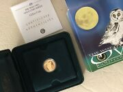 Tuvalu 2005 Owl 1/25oz Proof Gold Coin