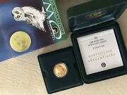 Tuvalu 2005 Owl 1/10 Oz Proof Gold Coin