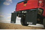 Hitch Mounted Mud Flaps 2 Truck Rocks Universal Adjustable Heavy Duty Easy New