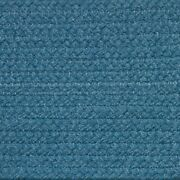 Solid Williamsburg Blue Braided Area Rugs By Colonial Rug-many Sizes 121