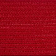 Solid Christmas Red Braided Area Rugs By Colonial Rug-many Sizes 113