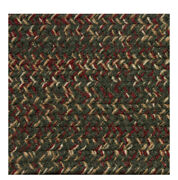 Green Red Beige Braided Area Rugs By Colonial Rug--many Sizes 412