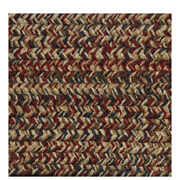 Blue Red Brow Beige Cream Braided Area Rugs By Colonial Rug--many Sizes 440