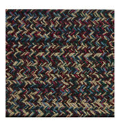 Burgundy Blue Green Beige Braided Area Rugs By Colonial Rug--many Sizes 473