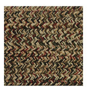 Green, Red, Black, Brown Braided Area Rugs By Colonial Rug--many Sizes 475
