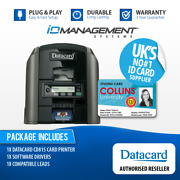 Datacard Cd815 Single-sided Direct-to-card Id Card Printer Andbull Free Uk Delivery