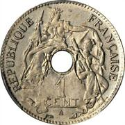 1897 A French Indo China Pattern 1 Centime In Nickel Pcgs Sp 62 No Essai Km E6