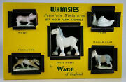 Wade Whimsies Set 10 1959 Farm Animals Production 1 Year