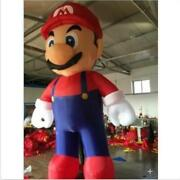 5m Customized Giant Inflatable Super Mario Inflatable Mario For Advertising S