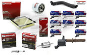 Tune Up Kit 2014 Ford Expedition 5.4l V8 Acdelco Ignition Coil Dg521 Fg1036