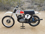 And03973 Cz 250 Center Port Vintage South Bay Mx Motocross Andres Works Perf. Falta