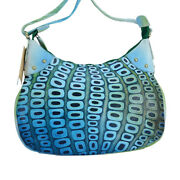 Swank Bags Hand Painted Abstract Leather Tote Shoulder Bag Sb060-3