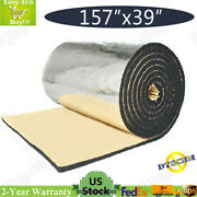 160 X 40 Car Insulation Sound Deadening Heat Shield Thermal Noise Proof Mat