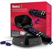 Roku 3 Streaming Media Player 4230r - New Others