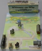 Wade Whimsey On Why Set 2, 1981 With Orginal Box And Display Card 8 Buildings
