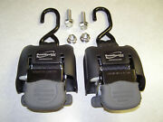 Boatbuckle F08893 G2 Retractable Boat Transom Tie Down System 14-43 Adjustable