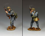 King And Country Ww2 German Army Wh078 Standing Ready Panzer Grenadier Mib