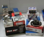 Olds 425 Deluxe Engine Kit 1965-67 4bbl Pistons+gaskets+valves 45 Degree No Cam