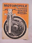 Motorcycle 2 Stroke Service Repair Technical Manual Vintage 1972 All Makes