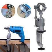 Grinder Electric Drill 360anddeg Bench Vise Stand Holder Bracket Clamp Wood Working