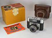 Collectible Russian Ussr Fed Atlas Camera+ Industar-61 Lens F2.8/52 Boxed 2
