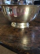 Paul Revere Reproduction Epns Footed Bowl