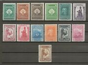 Spain 1931 Sg 713/25 Mnh Cat Andpound1700