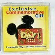Disney Visa Card Day 1 2003 Cardmember Gift Pin Limited Edition