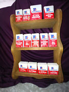 Mccormick And Co Spice Tins 13 With Wall Spice Rack Solid Wood