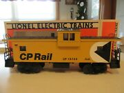 Lionel 19705 Cp Rail Caboose Never Used Nice Colors