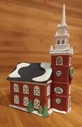 Dept. 56 Old North Church For New England Christmas Village -excellent Condition