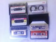 Lot Of 5 Used Cassette Tapes, Rca Rc60, Basf 90, Memorex Hb Ii90, Star, Certron
