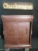 Insulated Food Tray Delivery Cart - Cortech Chuckwagon Jr /c1716