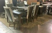 Thomasville Furniture Lumineand039 Upholstered Back Dining Chair Set Of 6